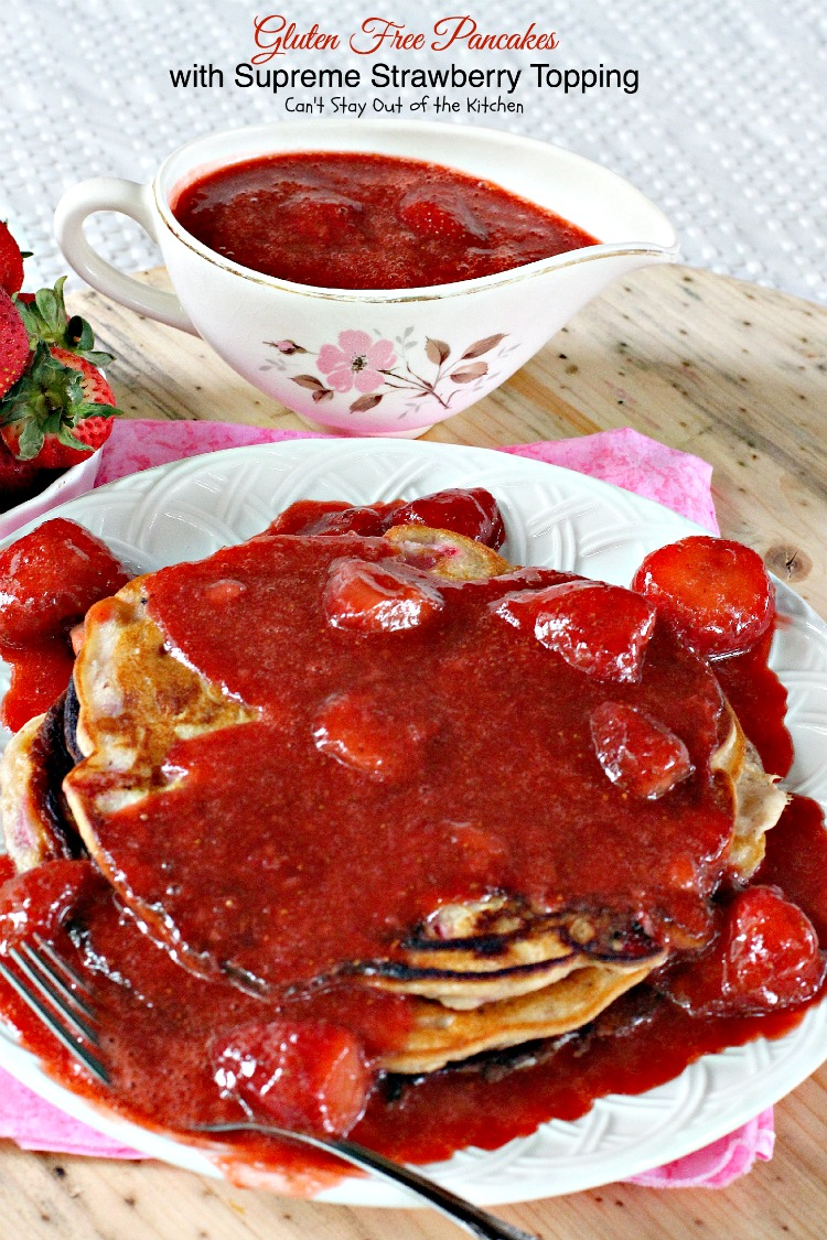 how to make strawberry topping