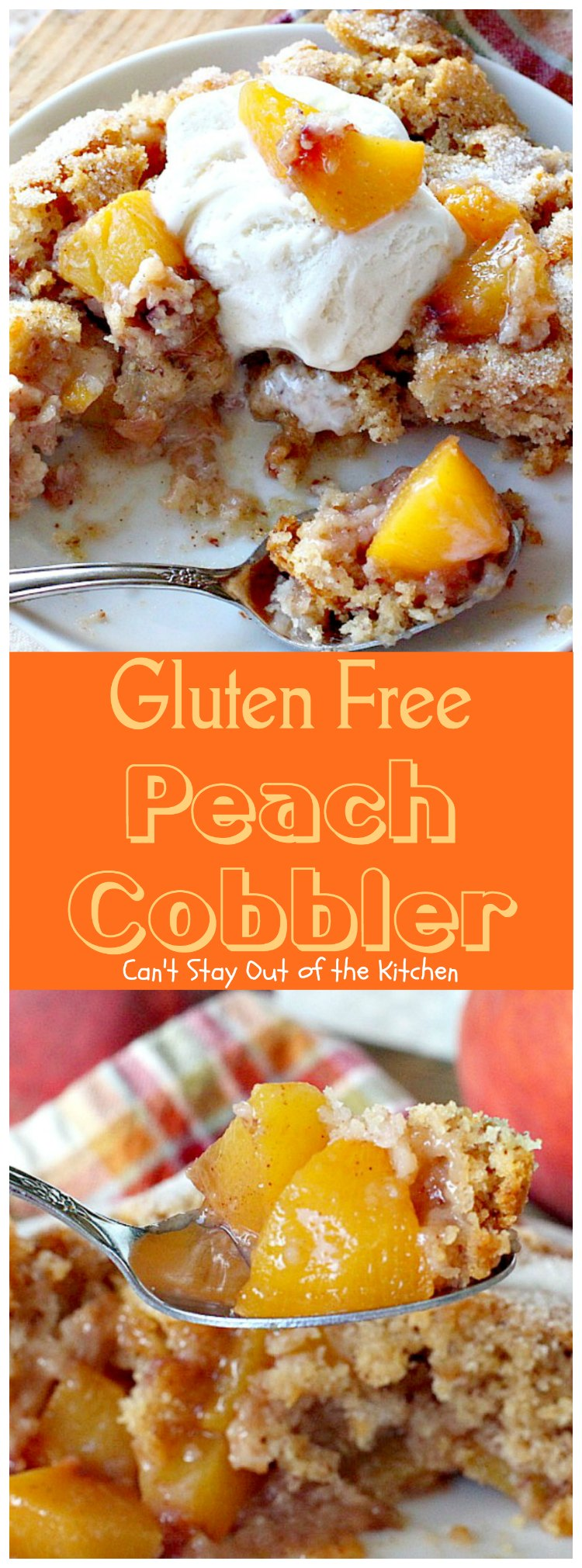 Gluten-Free Peach Cobbler Recipe — Dishmaps