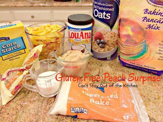 Gluten Free Peach Surprise - IMG_5636