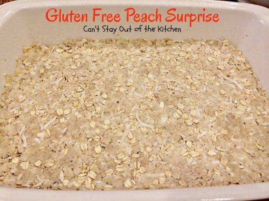 Gluten Free Peach Surprise - IMG_5643