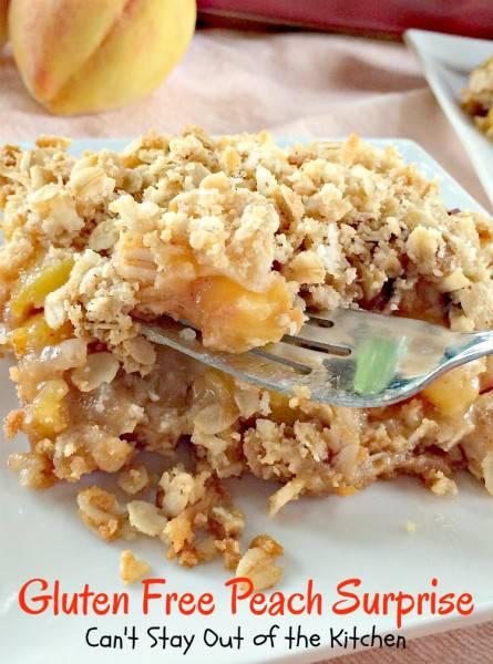 Gluten Free Peach Surprise - IMG_5811