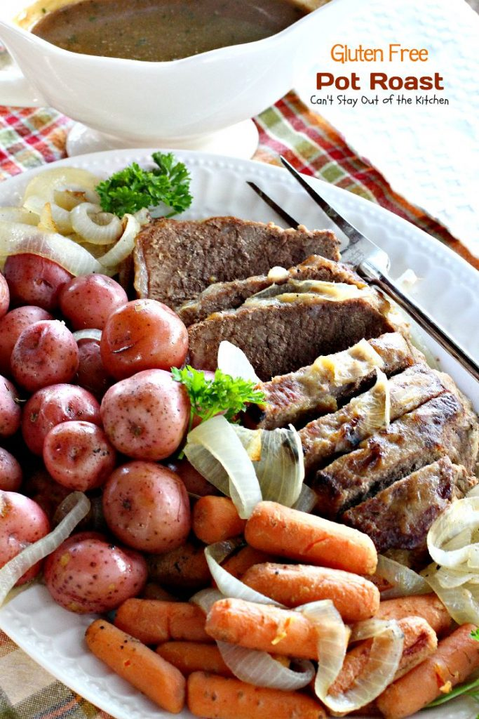 Gluten Free Pot Roast | Can't Stay Out of the Kitchen