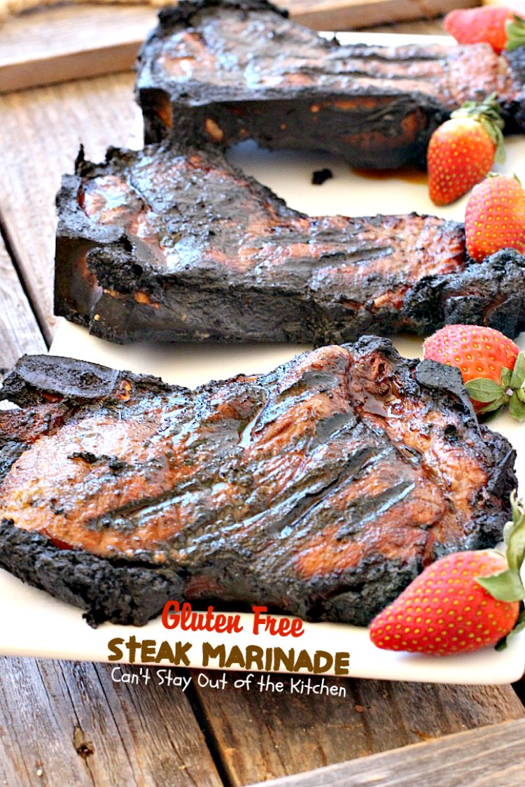 Gluten Free Steak Marinade