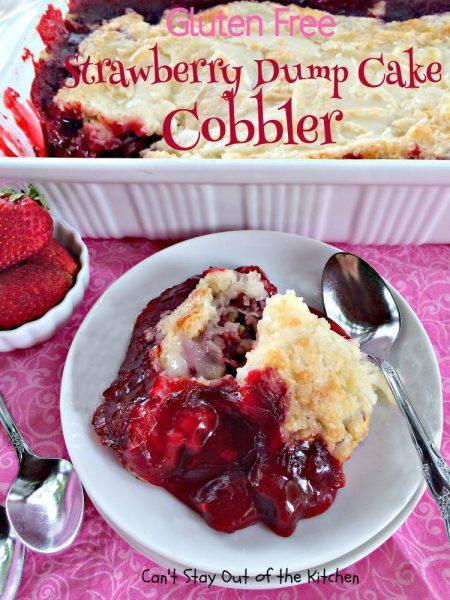 Gluten Free Strawberry Dump Cake Cobbler - IMG_5723.jpg