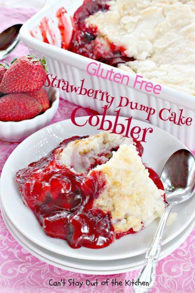Gluten Free Strawberry DumpCake Cobbler - IMG_9902.jpg