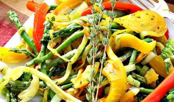 Golden Beets Stir Fry