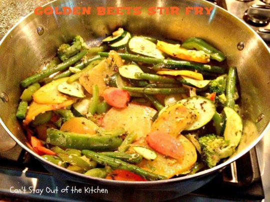 Golden Beets Stir-Fry-Recipe Pix 4