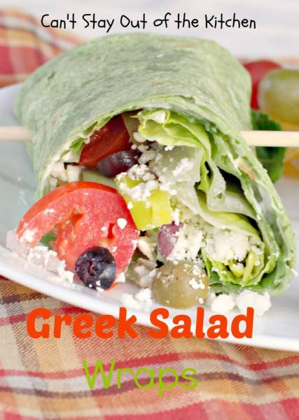 Greek Salad Wraps - IMG_1054