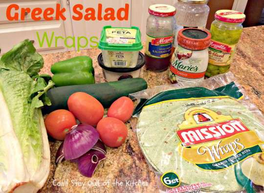 Greek Salad Wraps - IMG_5353