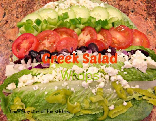 Greek Salad Wraps - IMG_5357