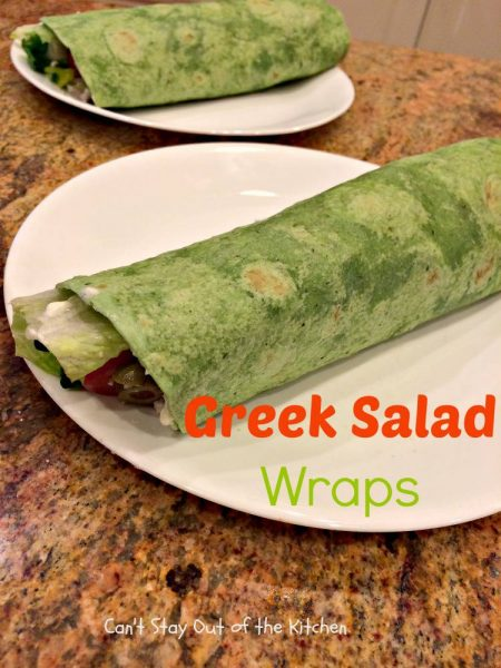 Greek Salad Wraps - IMG_5359