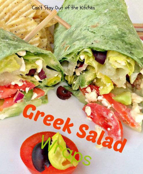 Greek Salad Wraps - IMG_5390