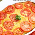 Green Chile Cheese Casserole   Can't Stay Out of the Kitchen   this is a fabulous #BreakfastCasserole to wake up to on a #holiday morning like #Thanksgiving, #Christmas or #NewYearsDay. It's got #TexMex flavors & filled with 2 cheeses & #eggs. Also good to serve for #MeatlessMondays. #CheddarCheese #MontereyJackCheese #GreenChilies #holiday #HolidayBreakfast #brunch #GlutenFree #GlutenFreeBreakfastCasserole #breakfast #GreenChileCheeseCasserole
