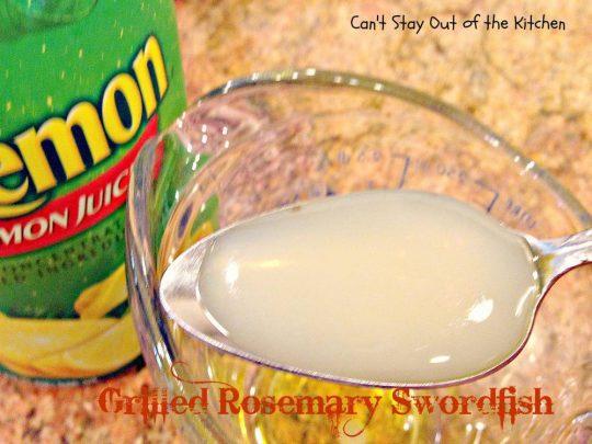 Grilled Rosemary Swordfish - IMG_4150