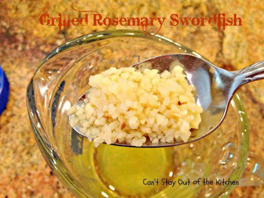 Grilled Rosemary Swordfish - IMG_4151