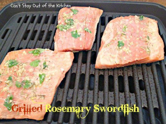 Grilled Rosemary Swordfish - IMG_4156