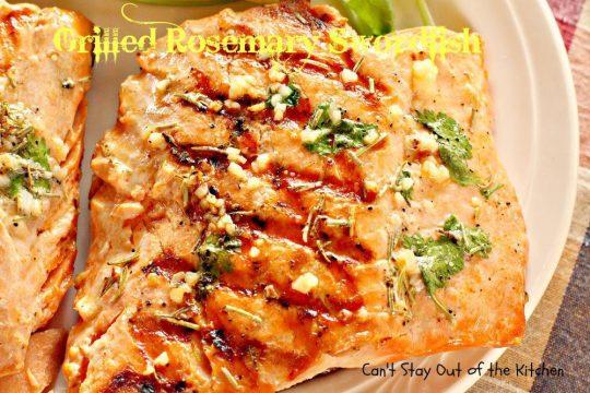 Grilled Rosemary Swordfish - IMG_9292