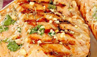 Grilled Rosemary Swordfish
