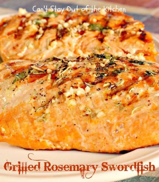 Grilled Rosemary Swordfish - IMG_9305