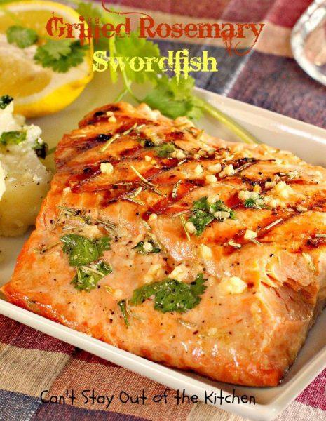 Grilled Rosemary Swordfish - IMG_9327