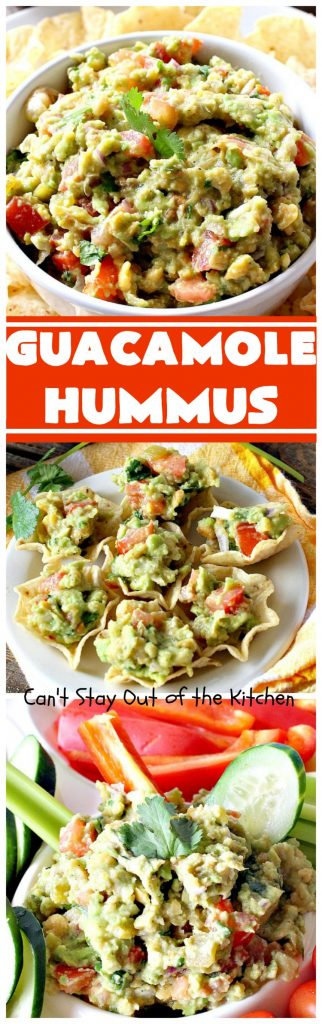 Guacamole Hummus | Can't Stay Out of the Kitchen