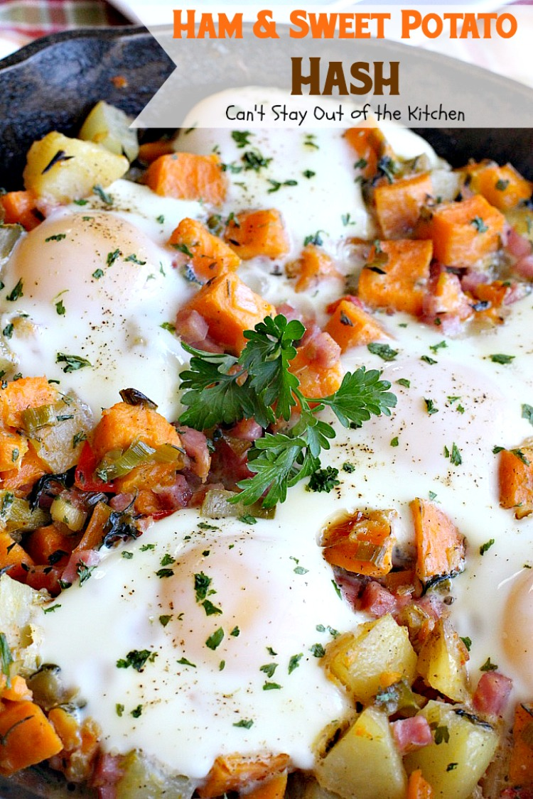 Ham and Sweet Potato Hash | Can't Stay Out Of The Kitchen ...