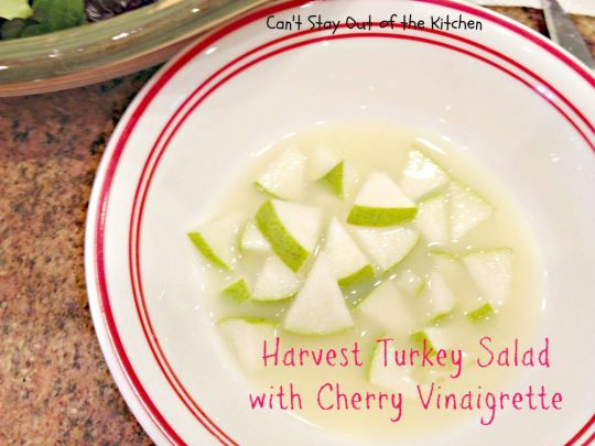 Harvest Turkey Salad with Cherry Vinaigrette - Recipe Pix 19 749.jpg