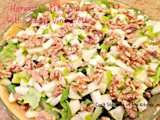 Harvest Turkey Salad with Cherry Vinaigrette - Recipe Pix 19 756.jpg
