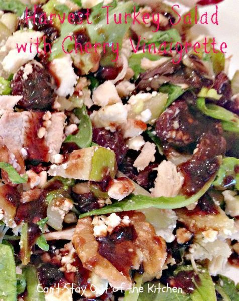 Harvest Turkey Salad with Cherry Vinaigrette - Recipe Pix 20 181.jpg