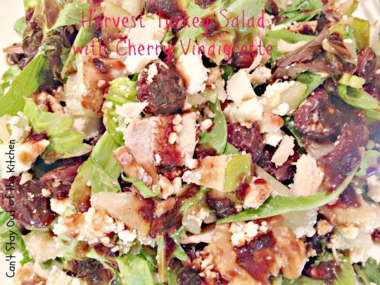 Harvest Turkey Salad with Cherry Vinaigrette - Recipe Pix 20 184.jpg