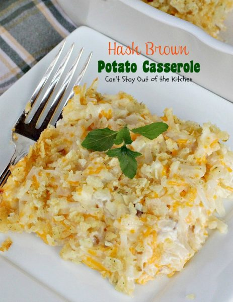 Hash Brown Potato Casserole - IMG_1362