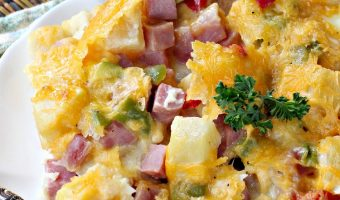Hawaiian Breakfast Casserole