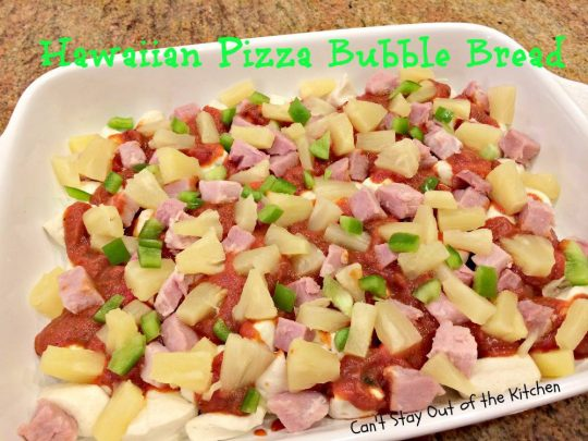 Hawaiian Pizza Bubble Bread - IMG_5973