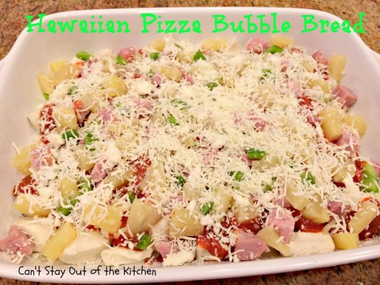 Hawaiian Pizza Bubble Bread - IMG_5974
