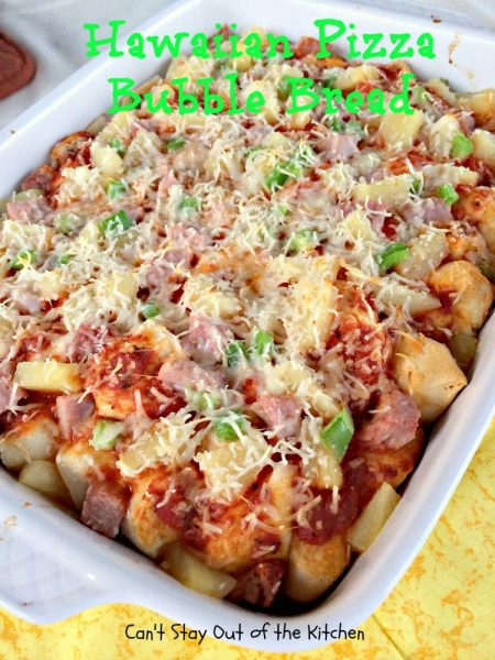 Hawaiian Pizza Bubble Bread - IMG_5978