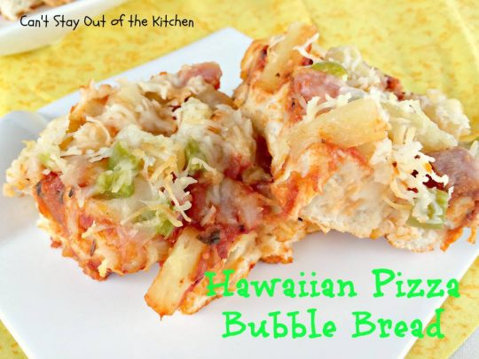 Hawaiian Pizza Bubble Bread - IMG_6010