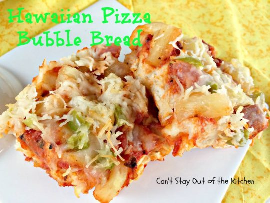 Hawaiian Pizza Bubble Bread - IMG_6023