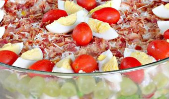 Healthy 24-Hour Layered Salad