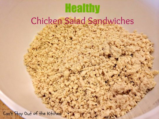 Healthy Chicken Salad Sandwiches - IMG_3545