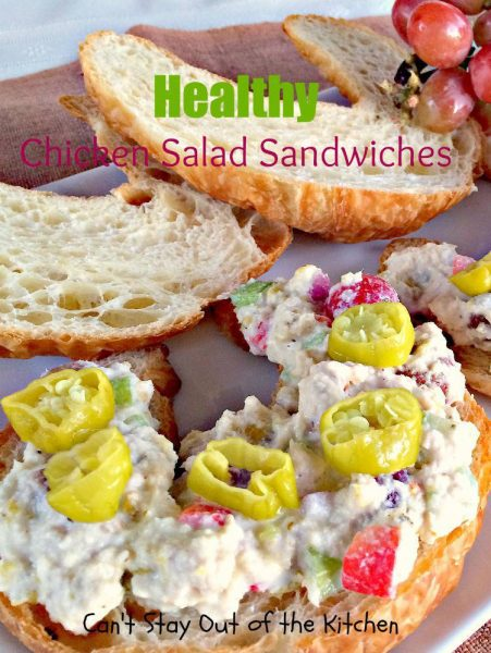 Healthy Chicken Salad Sandwiches - IMG_3557