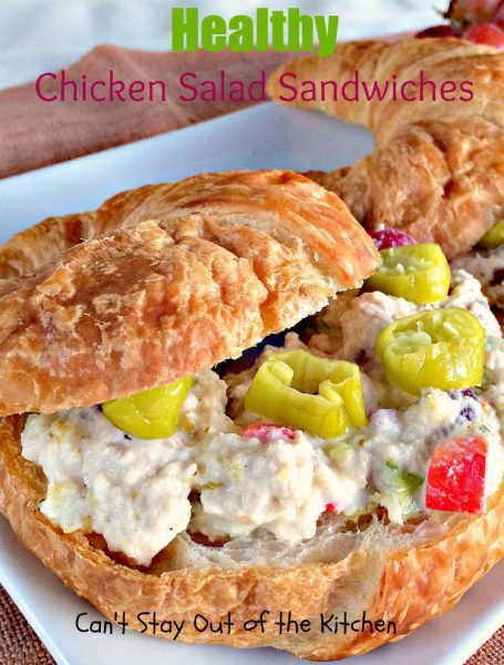 Healthy Chicken Salad Sandwiches - IMG_3561