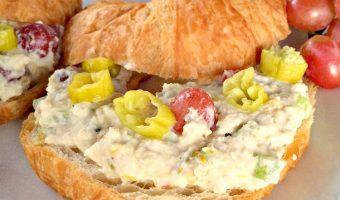 Healthy Chicken Salad Sandwiches