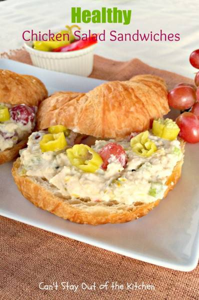Healthy Chicken Salad Sandwiches - IMG_3573
