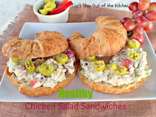 Healthy Chicken Salad Sandwiches - IMG_3575