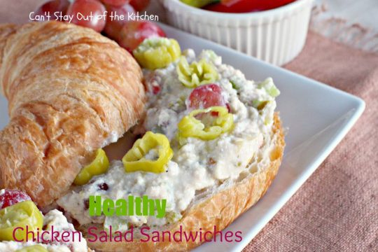 Healthy Chicken Salad Sandwiches - IMG_9949