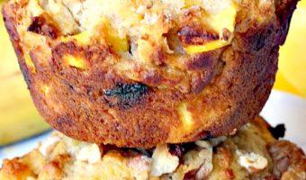 Healthy Gluten Free Mango Muffins