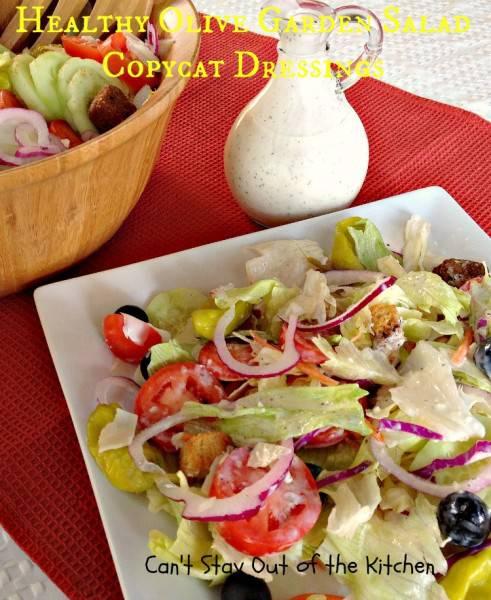 Healthy Olive Garden Salad Copycat Dressing - IMG_5067