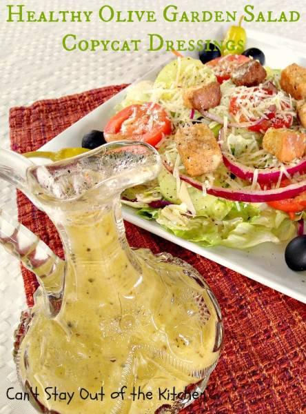 Healthy Olive Garden Salad Copycat Dressing - IMG_5785