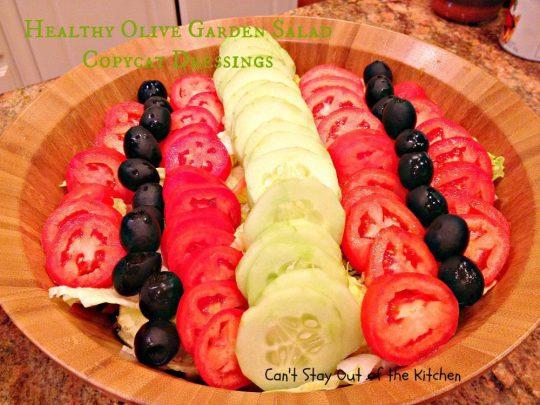 Healthy Olive Garden Salad Copycat Dressings - IMG_4703