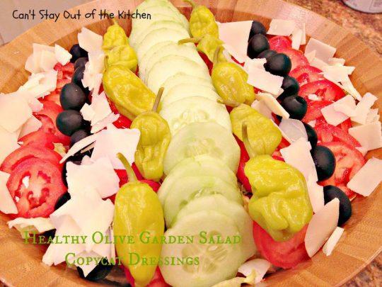 Healthy Olive Garden Salad Copycat Dressings - IMG_4705
